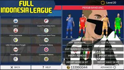 FTS 2018 Mod Liga Indonesia Versi Terbaru