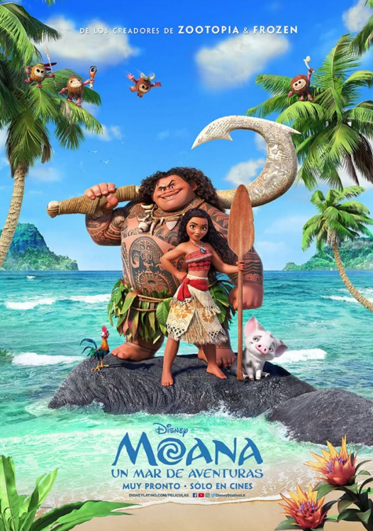 Moana 2016 Dual Audio 720p DVDScr 700mb