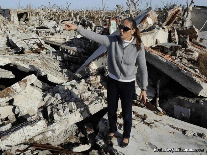 Tragedi 'Bandar Hantu' Villa Epecuen Argentina