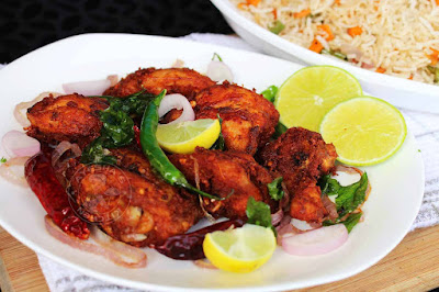 kerala chicken fry thattukada chicken fry yummy indian chicken recipes ayeshas kitchen malabar