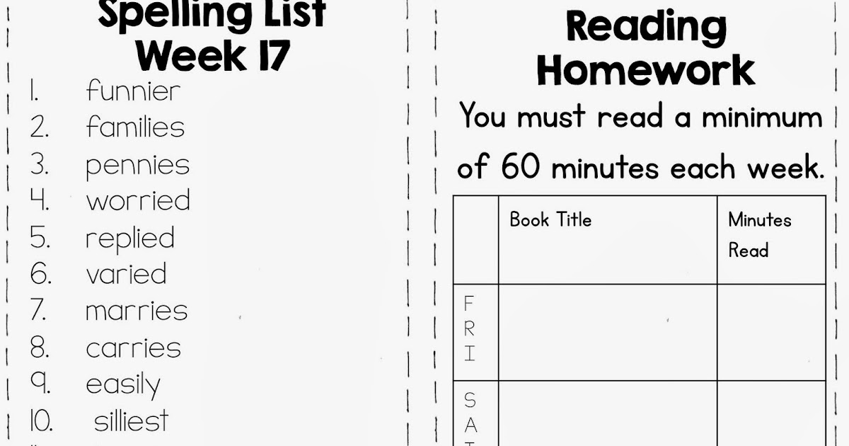 Fourth and Ten: My Fourth Grade Homework Routine