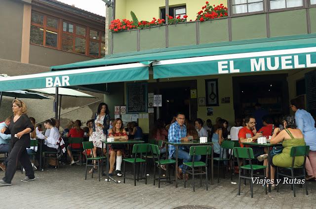 Bar el Muelle de Luanco, Asturias