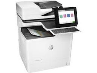 Picture HP Color LaserJet Enterprise M681f Printer Driver Download