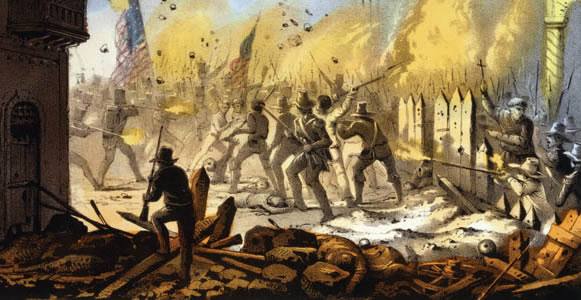 Numerous conspiracy theories pump on the controversial state of war fought betwixt the United St Mexican-American War