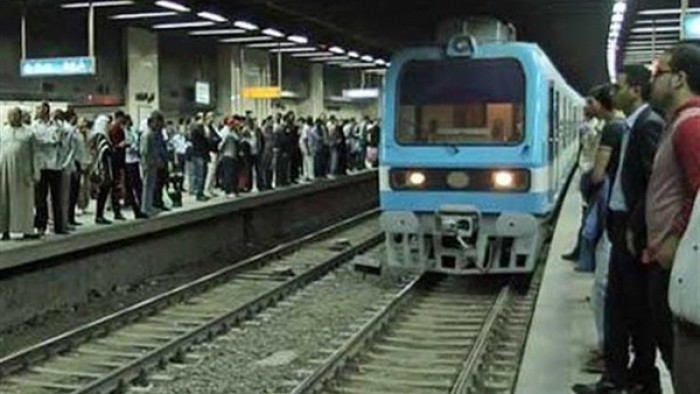 الصور الأولى لانتحار سيدة تحت عجلات مترو دار السلام