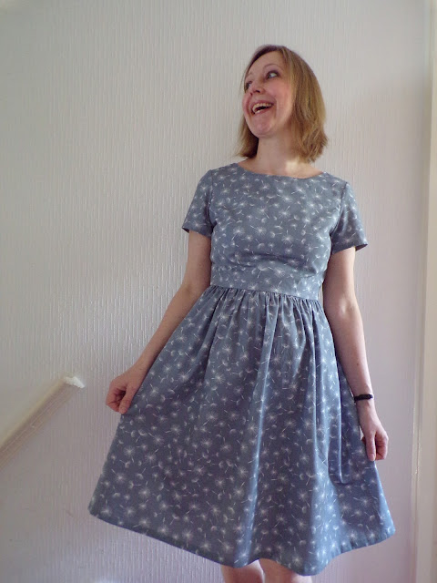 A review of the Emery dress pattern by Christine Haynes