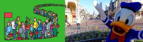 15 coisas estranhas proibidas na Disneylândia - Furar fila