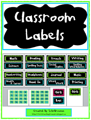 https://www.teacherspayteachers.com/Product/Classroom-Labels-Green-Blue-and-Black-277603