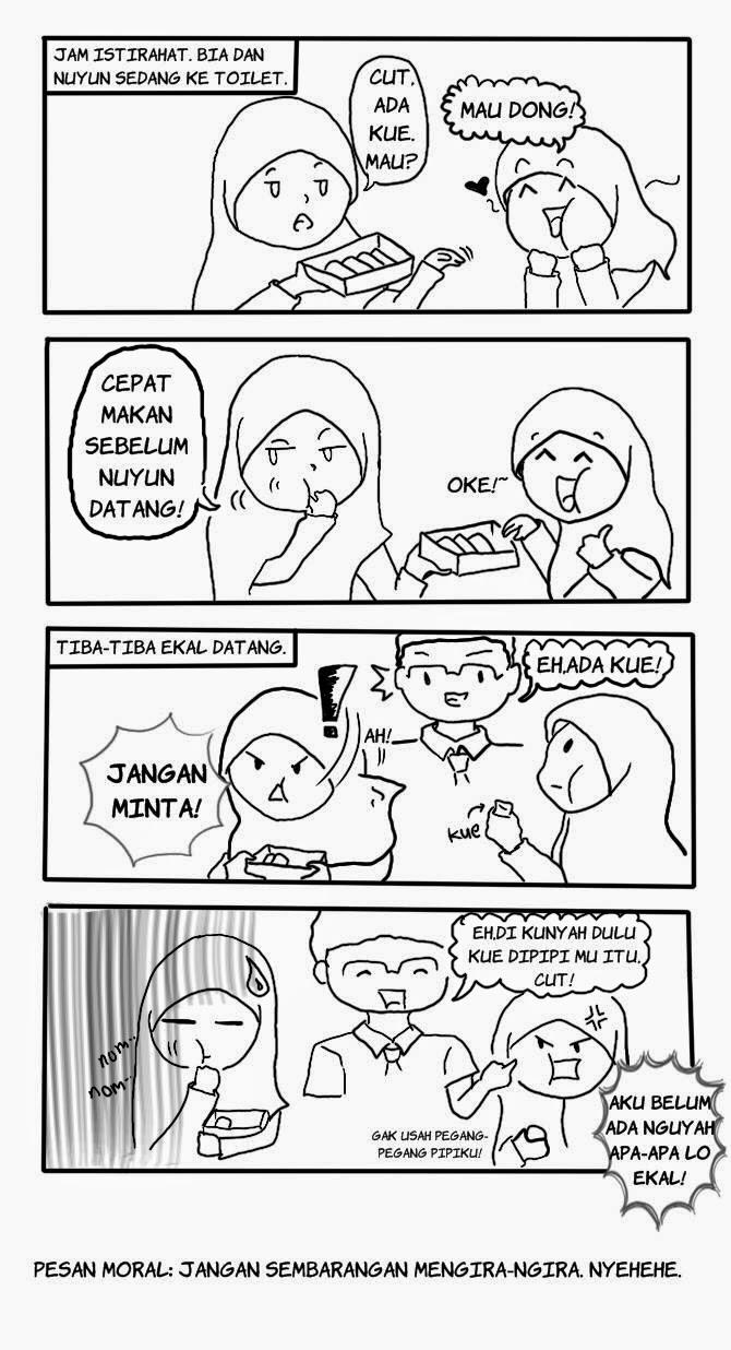 Komik Lucu muslimah berjilbab