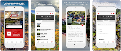 Coleman Launches App to Inspire People to Get Outdoors