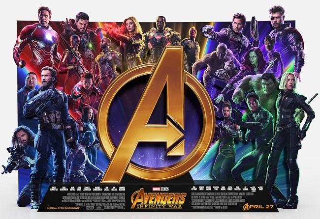 Poster Karakter Avengers: Infinity War 2018