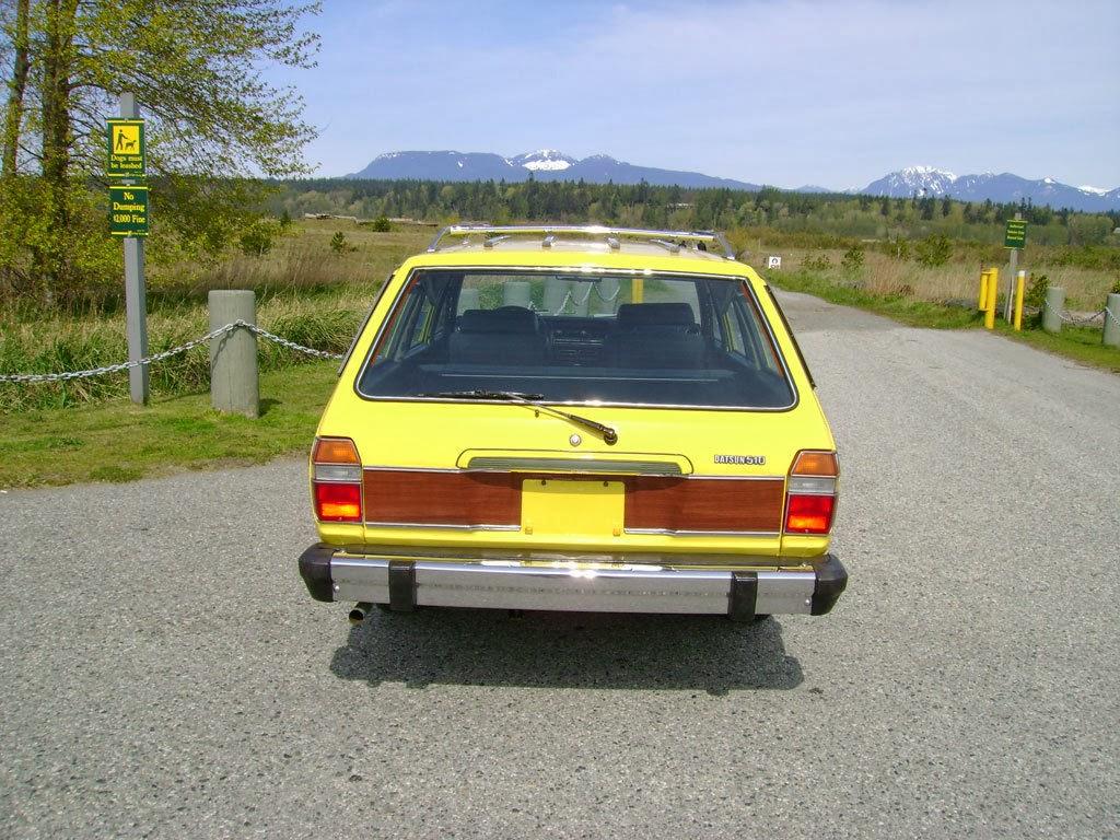 Daily Turismo: 5k: Yellow Submarine: 1978 Datsun 510 Wagon