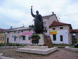 Ходоров. Памятник гетману Украины Богдану Хмельницкому