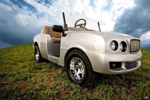 The Brooklyn golf cart