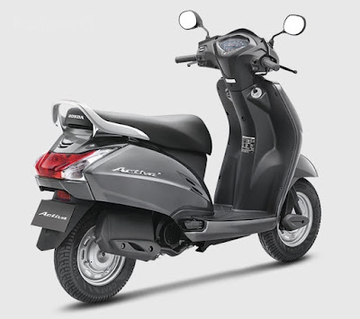 Honda Activa 3G rear wallpaper