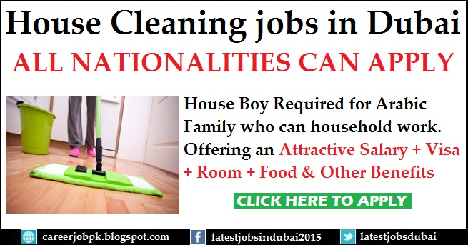 Housemaid Dubai Required
