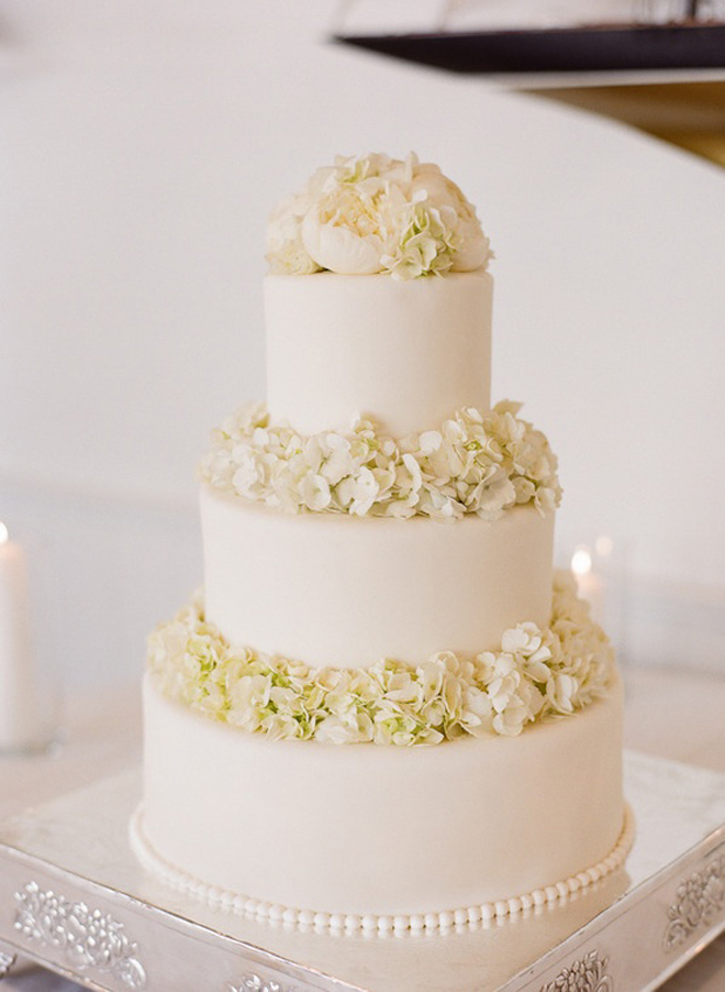All White Wedding Cakes - Belle The Magazine