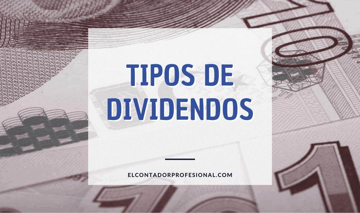 Tipos de dividendos