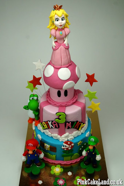 Super Mario Bros Cake London