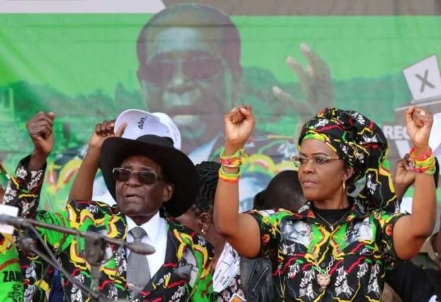 Zimbabwe's First Lady, Grace Mugabe accused of assaulting woman