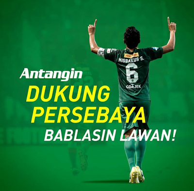 Antangin dukung Persebaya pada Liga 1 2019