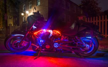 Wallpaper: Harley Davidson Motorcycle
