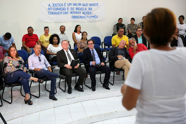 Em Pão de Açúcar/AL, presidente do TJ/AL  conhece projeto para afastar jovens da criminalidade