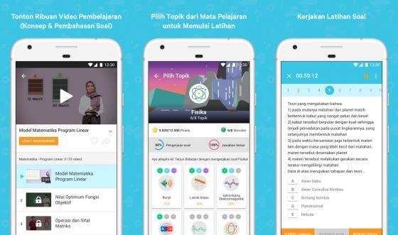 Solusi Belajar Melalui Android Dengan Aplikasi Ruangguru
