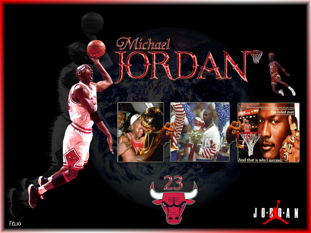 Michael Jordan 23 Wallpaper: World Sports Hd Wallpapers: Michael Jordan Hd Wallpapers