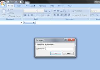 Cara Membuka File Excel Yang Terkunci Password Tanpa Software