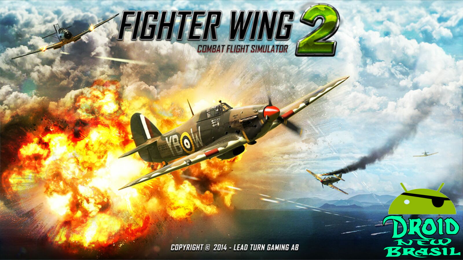 Fighter Wing 2 Flight Simulator v2.78 Apk – OBB