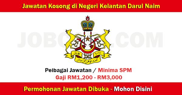 Senarai Jawatan di Kelantan