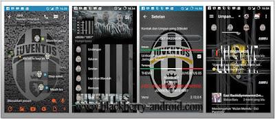 BBM Mod Tema Juventus Terbaru Base V.2.12.0.9 APK