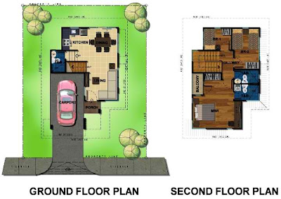Bambu Estate Nori House Model Floor Plan