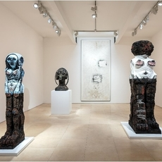 artista Huma Bhabha | esculturas chidas