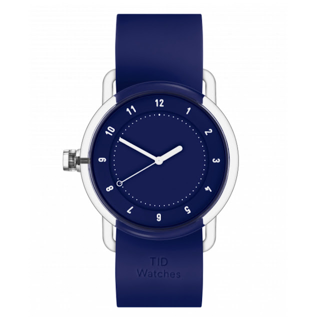 The blue No.3 timepiece from TID.