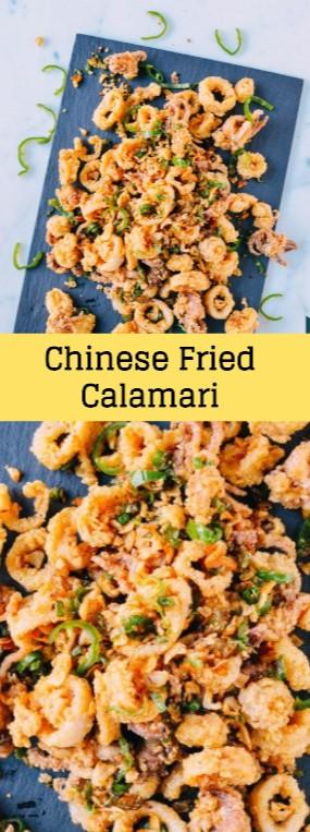 Chinese Fried Calamari