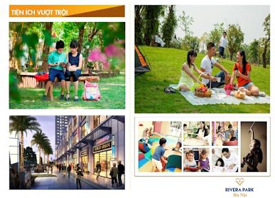 Tiện ích dự án Rivera Park Hà Nội