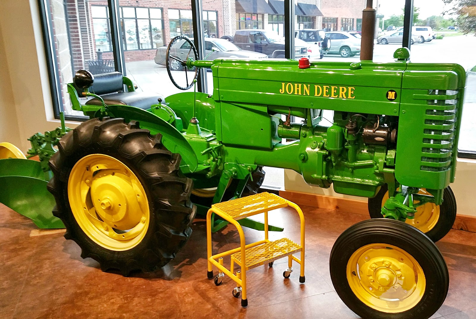 History And Culture By Bicycle  Ca  1947 John Deere Model M  Complete Tractor With Plow