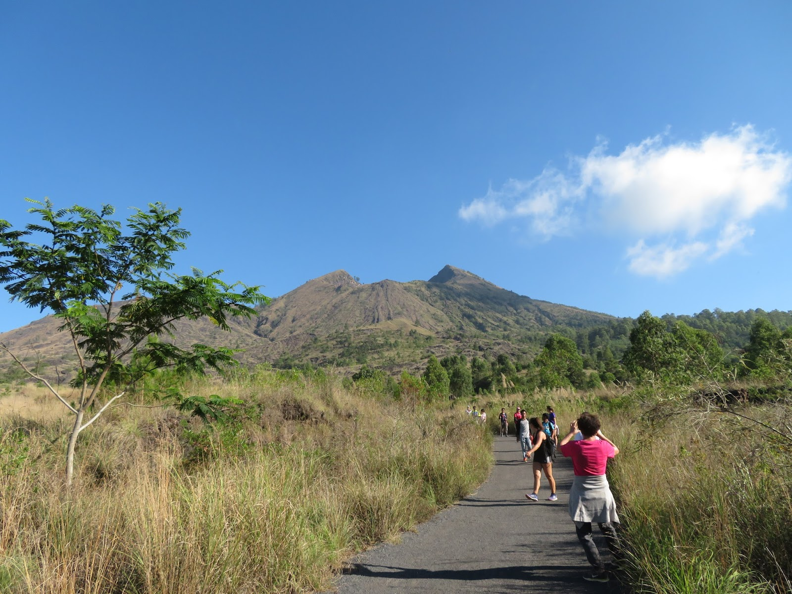 Sommerfuglen: Bali #4 Vulkanen Mt. Batur