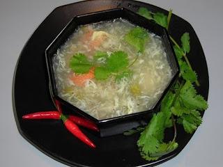 Soup Măng Tây Chay