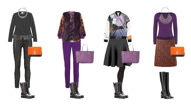 Комплекты гардероба в байкерском стиле Project 333