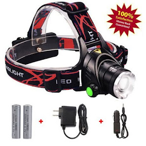 SH 2000 Lumens Ultra Bright Led Headlamp