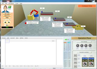 Screenshot 3 : Mitsubishi FX-Series PLC Trainer | Softwares PLC