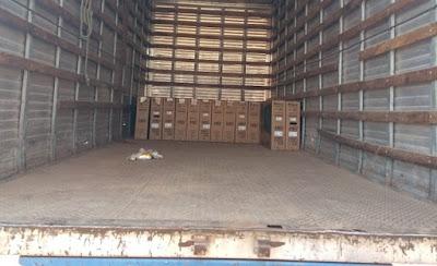 Cinco pessoas são presas com 59 TVs roubadas de transportadora em Cuiabá