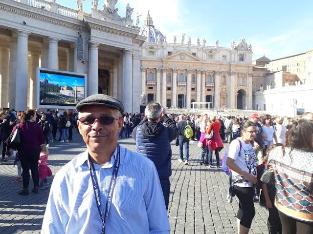 Padre Vanderlei viaja em missão a terra santa