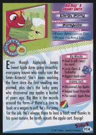 MLP Big Mac & Granny Smith Series 4 Trading Card