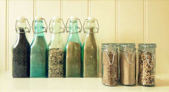 Beach Sand Puts Vacation In A Bottle