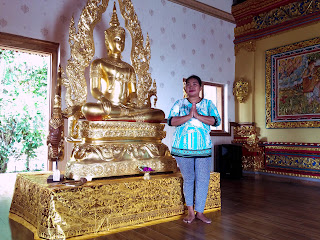 Welcome To The Worship and Meditation Room At Brahmavihara Arama Monastery North Bali