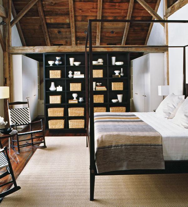 Hogares Frescos: Granero Rústico con Diseño de Interiores Moderno.